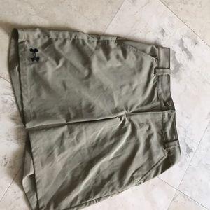 Other - Ua khaki shorts